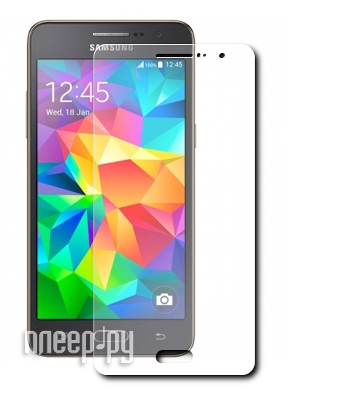 Аксессуар Защитная пленка Samsung G360 / G361 Galaxy Core Prime Red Line матовая
