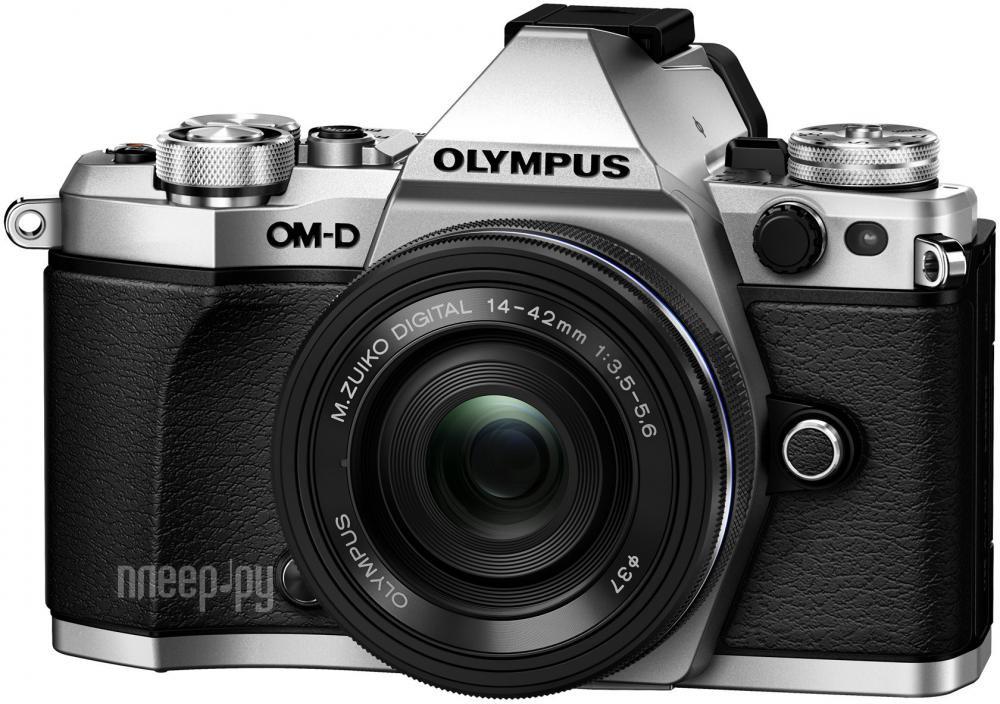 Фотоаппарат Olympus OM-D E-M5 Mark II Kit 14-42 mm EZ Silver-Black