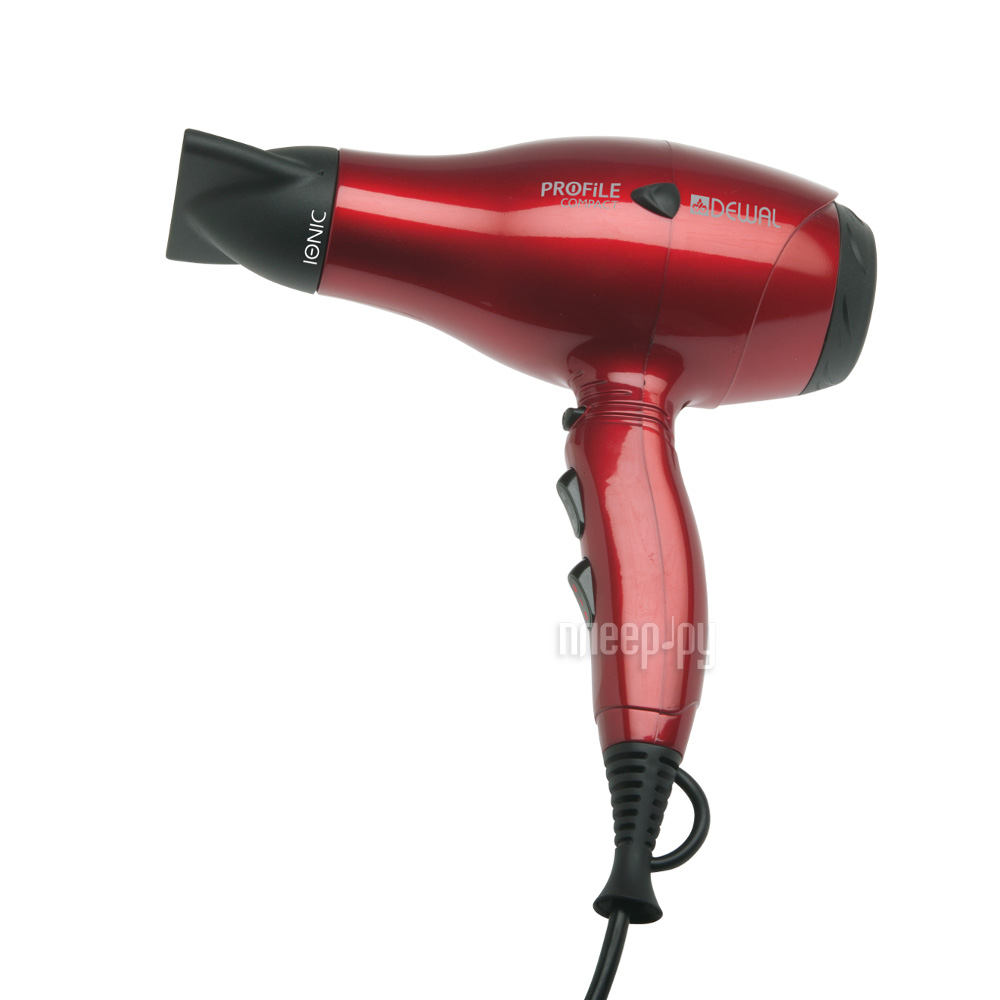 Фен Dewal Profile Compact 03-119 Red