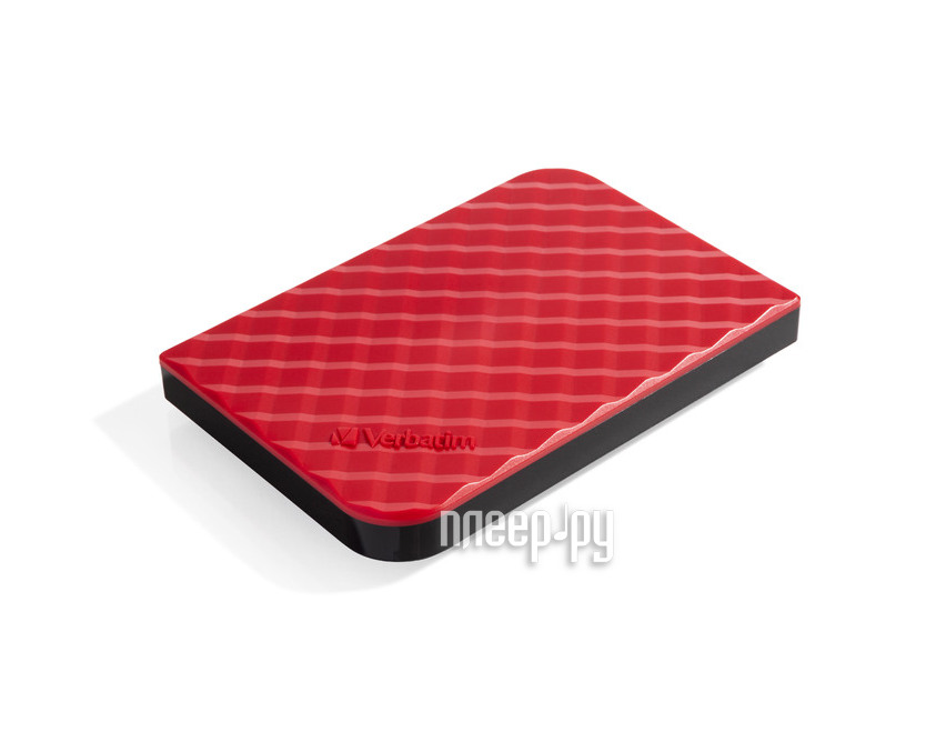 Жесткий диск Verbatim Store n Go New 1000Gb USB 3.0 Red 53203