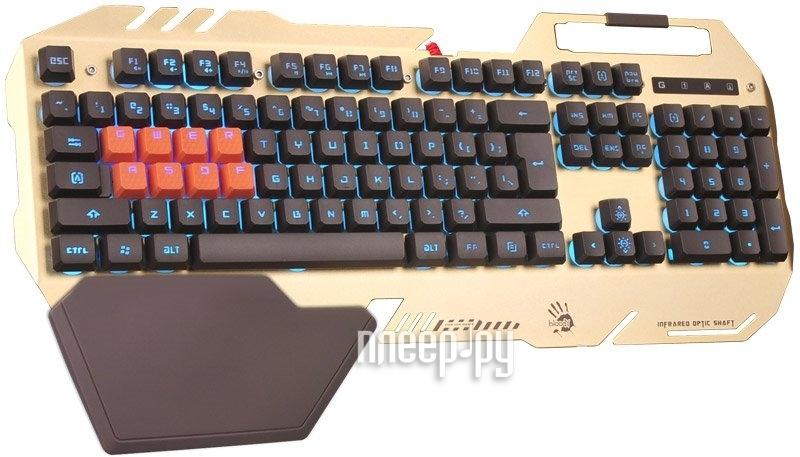 Клавиатура A4Tech Bloody B418 Orange USB купить