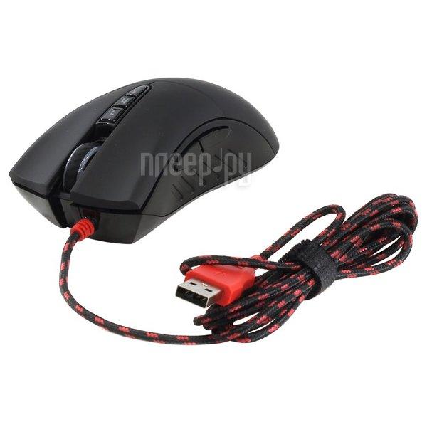 Мышь A4Tech Bloody V3M Black USB