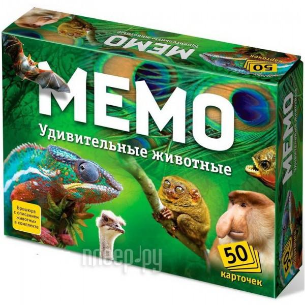 Настольная игра Ranok Creative Мемо Удивительные животные 7207