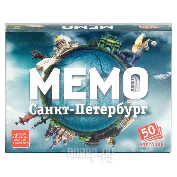 Настольная игра Ranok Creative Мемо Санкт-Петербург 7201 купить