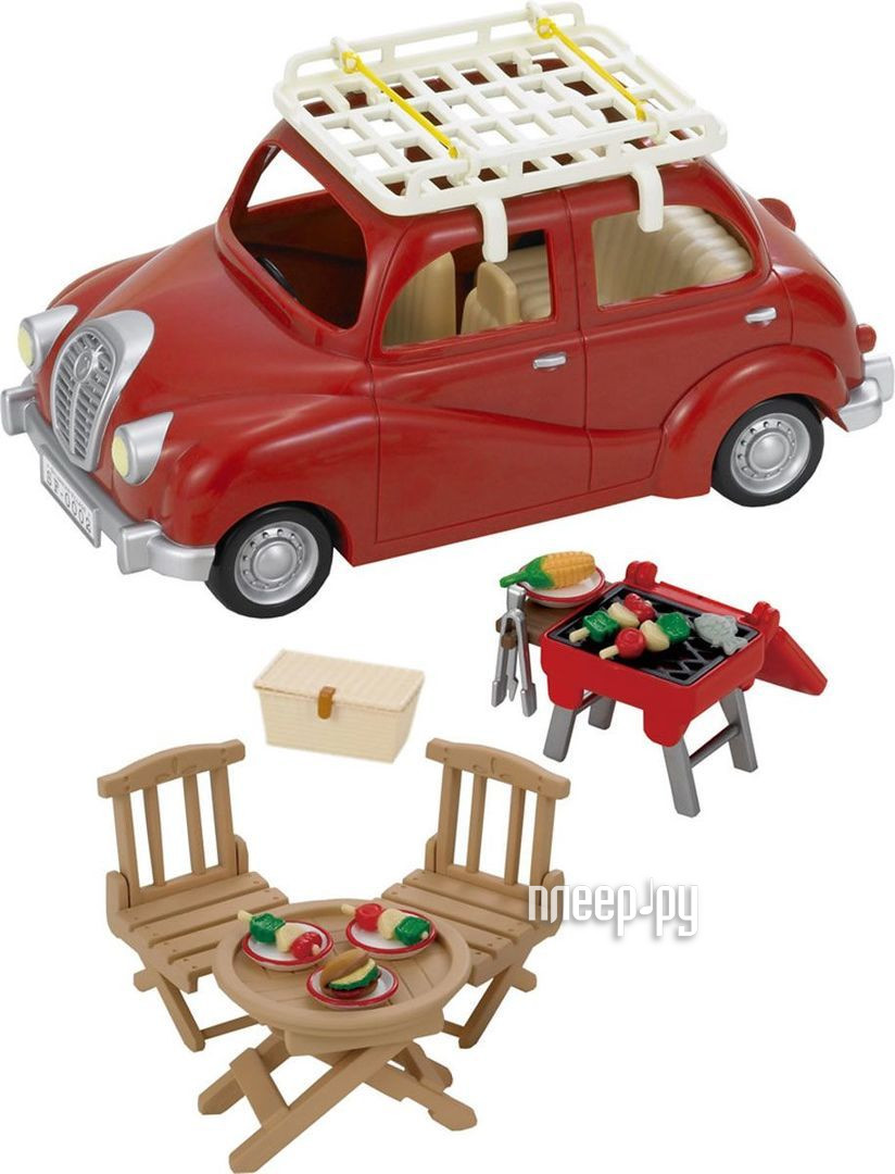 Игра Sylvanian Families Семейный автомобиль Red 2002