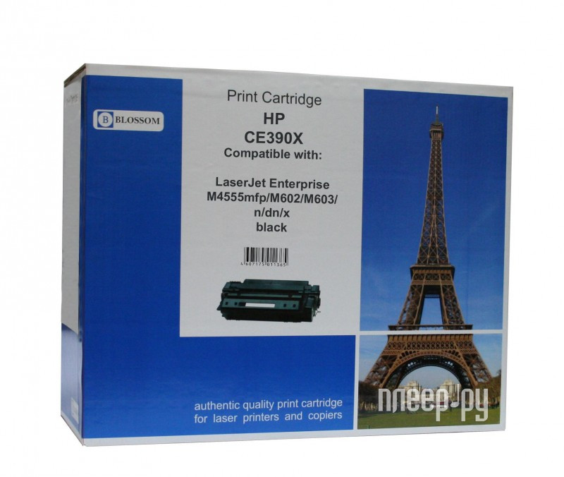 Картридж Blossom BS-HPCE390X Black for HP LaserJet Enterprise M4555mfp / M602 / M603