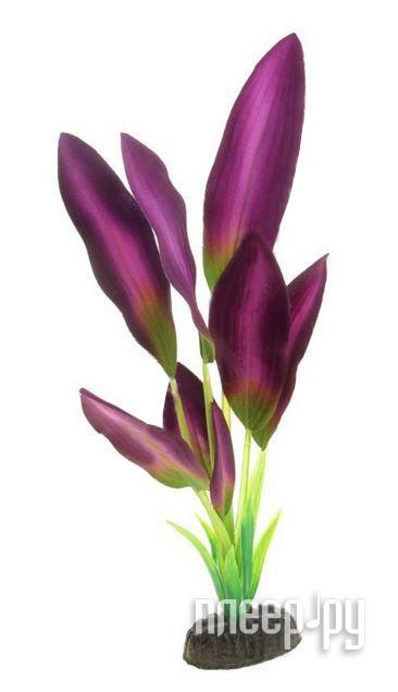 МЕДОСА Эхинодорус - шелковое растение 30 см Green-Purple YM-04