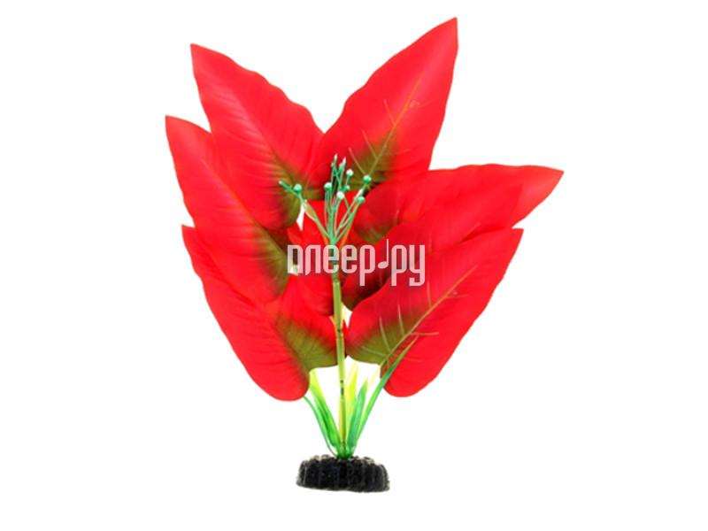 МЕДОСА Криптокорина - шелковое растение 50 см Red-Green YM-08/09/10
