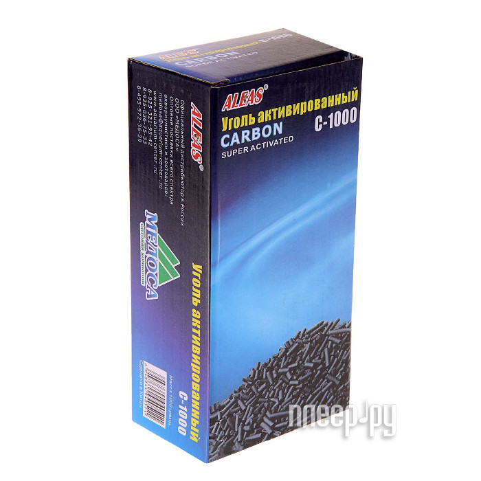 Aleas Активированный уголь 1000 гр C-1000