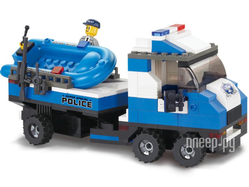 Конструктор Sluban Полицейский спецназ M38-B0190R