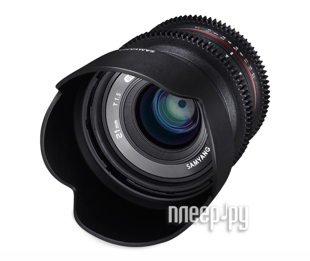 Объектив Samyang Fujifilm X 21 mm T1.5 ED AS UMC CS