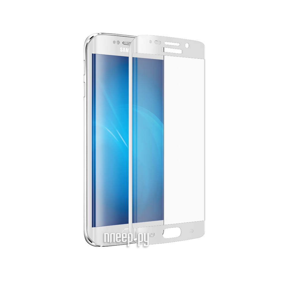 Аксессуар Защитное стекло Samsung G925F Galaxy S6 Edge CaseGuru 3D 0.33mm White