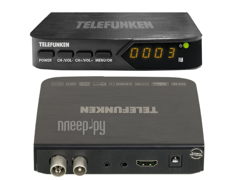 Тюнер Telefunken TF-DVBT210 Black