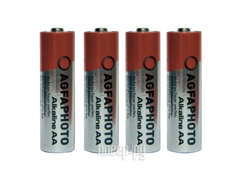 Батарейка AA - AgfaPhoto LR6 Alkaline (4 штуки)