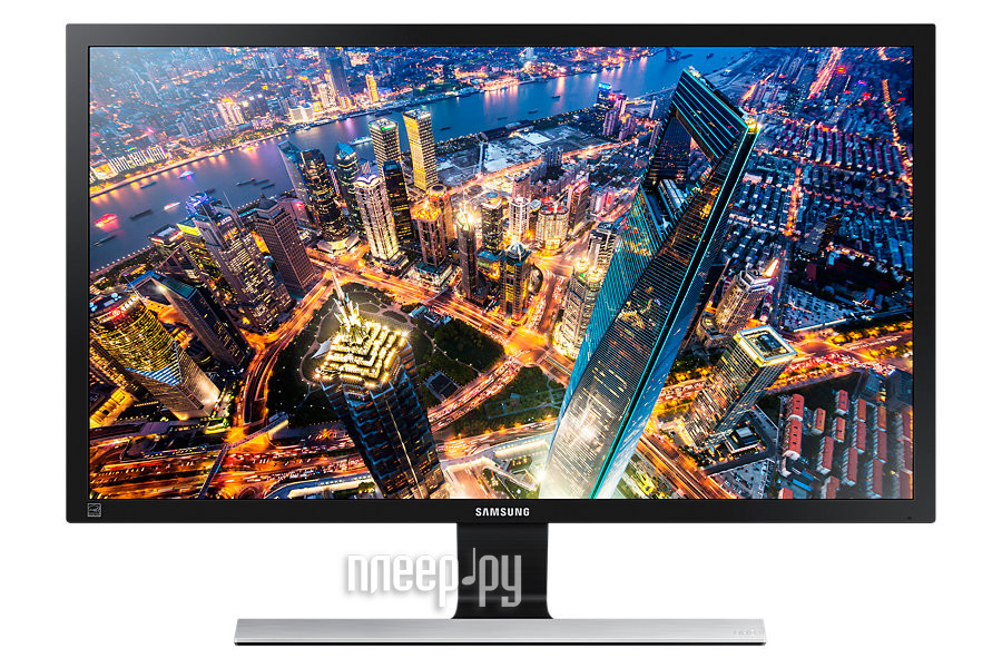 Монитор Samsung U28E590D Glossy Black-Grey Metallic