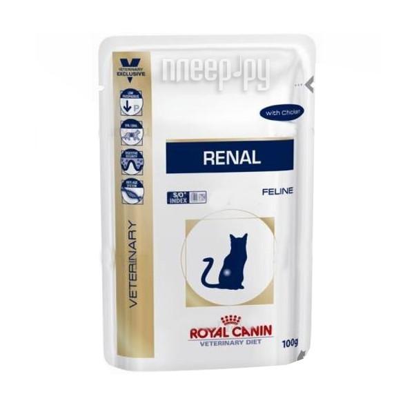 Корм ROYAL CANIN VET Renal Feline 85g для кошек 58122
