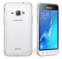 Сотовый телефон Samsung SM-J120F/DS Galaxy J1 (2016) White