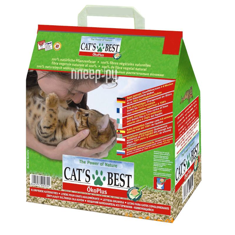 Наполнитель CatS Best Eko Plus 4.3кг