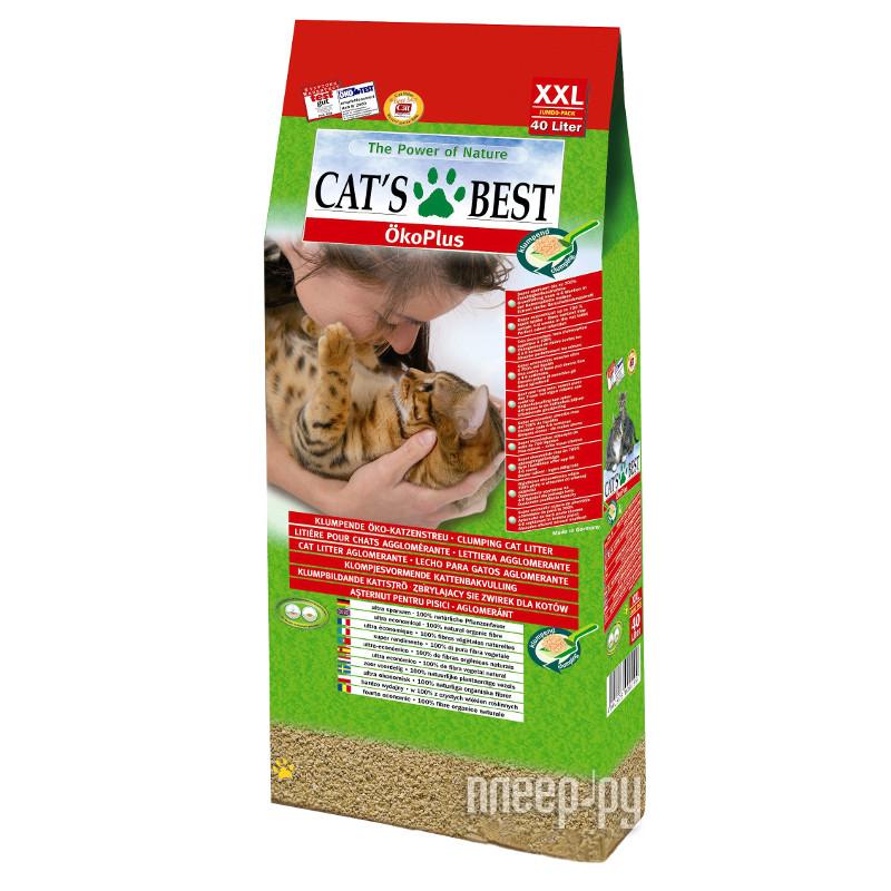 Наполнитель CatS Best Eko Plus 17.2kg