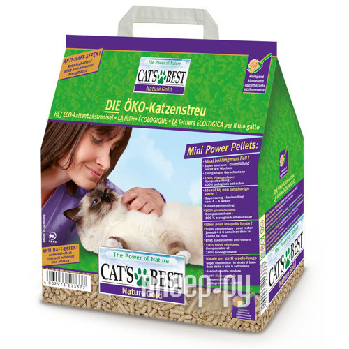 Наполнитель CatS Best Nature Gold 10kg