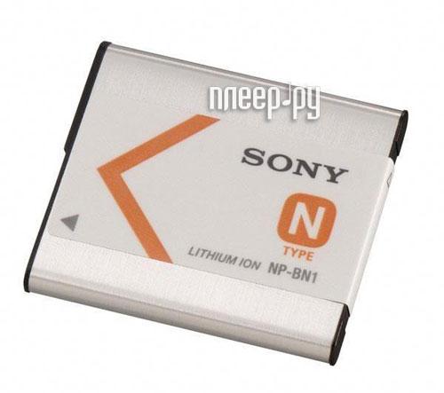 Аккумулятор Sony NP-BN1  Pleer.ru  1148.000