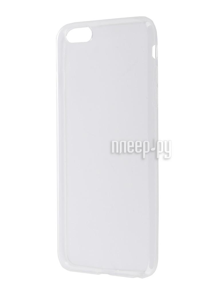 Аксессуар Чехол-накладка BROSCO для iPhone 6 Plus IP6P-TPU-TRANSPARENT
