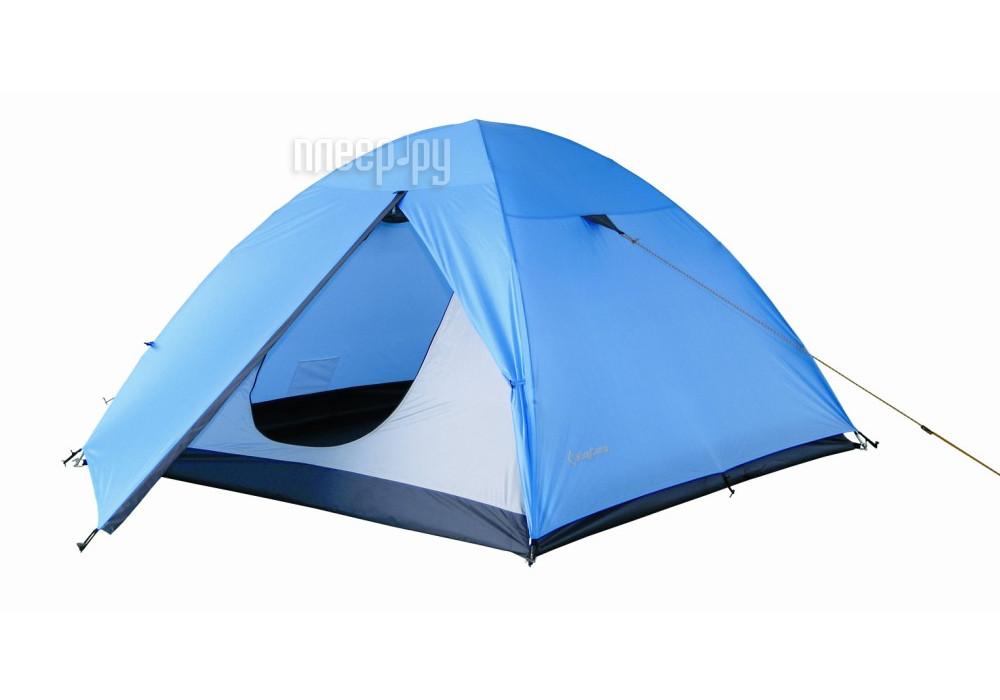 Палатка KingCamp Hiker Fiber 2 Blue