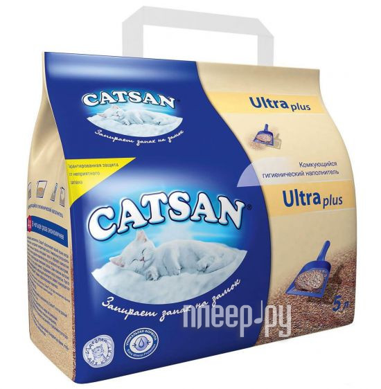 Наполнитель Catsan Ultra 5L LW742