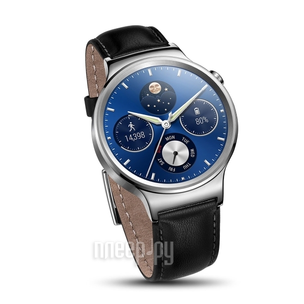 Умные часы Huawei Mercury G00 Watch Classic Leater Silver купить