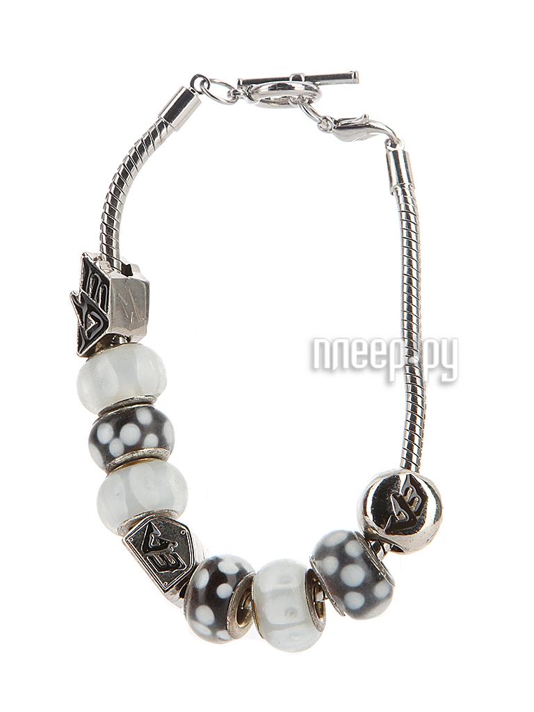 Браслет Energy-Armor Womens Charm Bracelet Black-White M