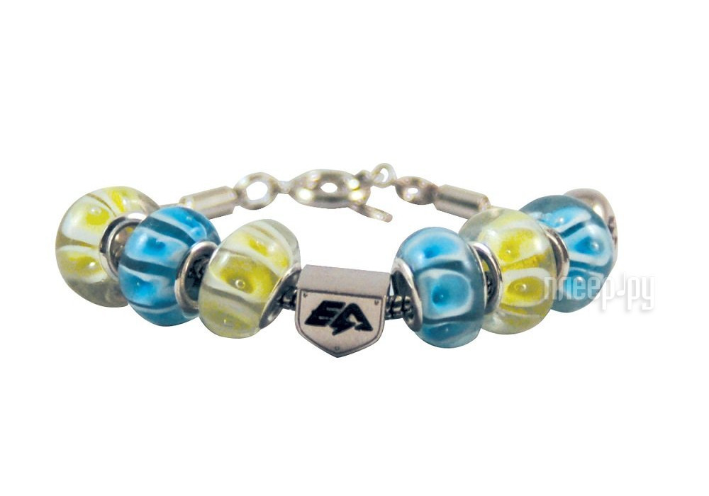 Браслет Energy-Armor Womens Charm Bracelet Turquoise - Lime Green M