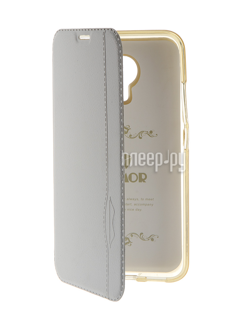 Чехол HTC One M10 / Lifestyle iBox Crystal Grey