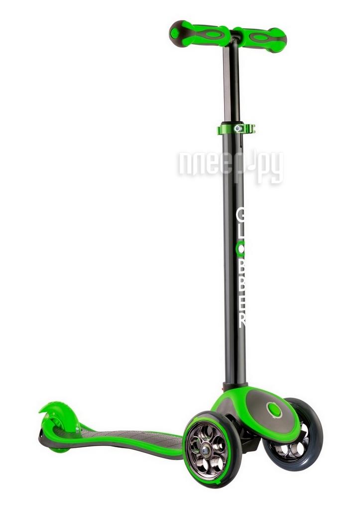 Самокат Y-SCOO RT Globber My free Titanium Neon Green