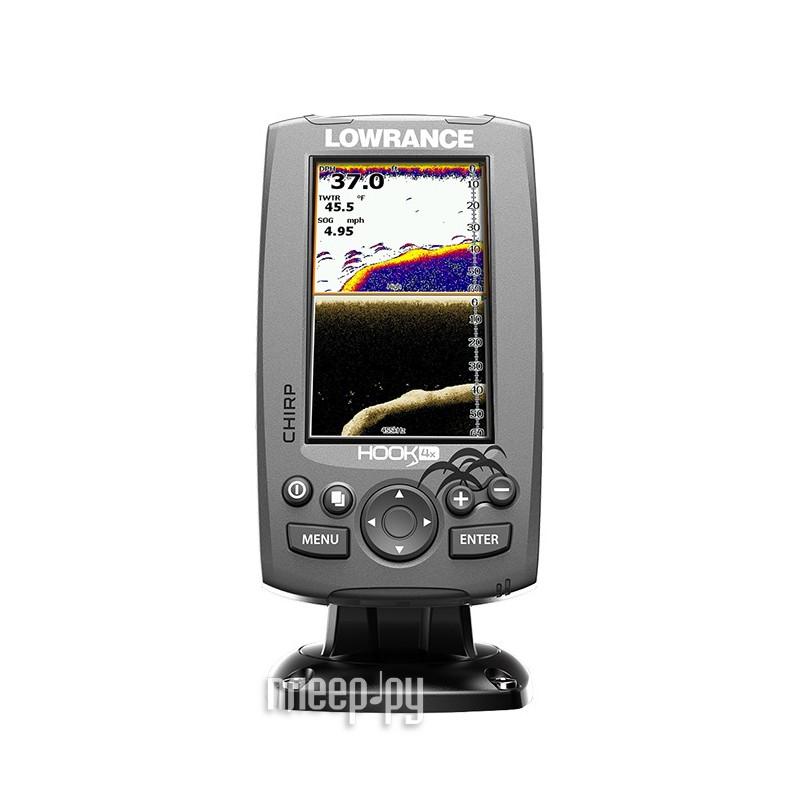 Эхолот Lowrance Hook-4x Mid/High/DownScan 000-12641-001