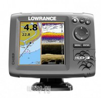 Эхолот Lowrance HOOK-5 Mid/High/DownScan 000-12656-001
