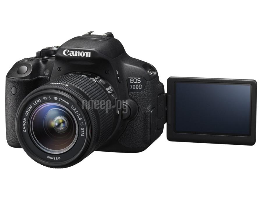 Фотоаппарат Canon EOS 700D Kit EF-S 18-55 mm F / 3.5-5.6 III DC