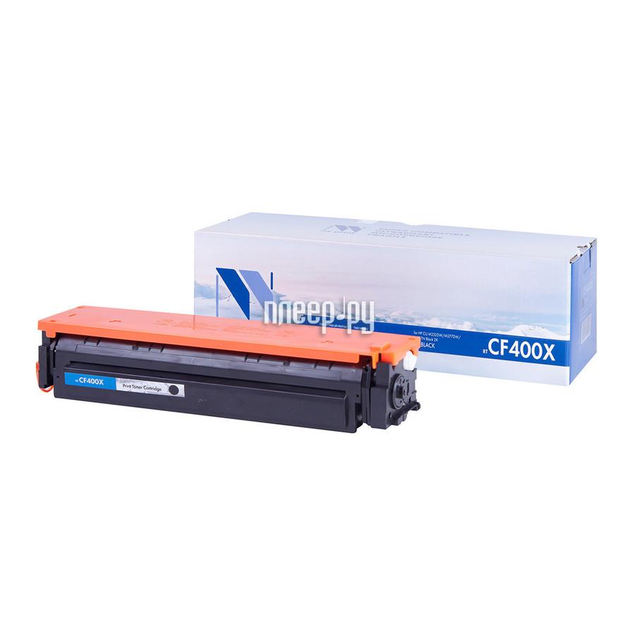 Картридж NV Print CF400X Black для HP LaserJet Pro M252 / MFP M277 купить