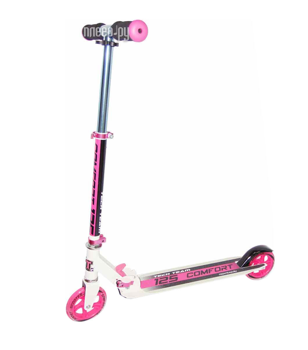 Самокат Tech Team TT 125 Comfort Pink
