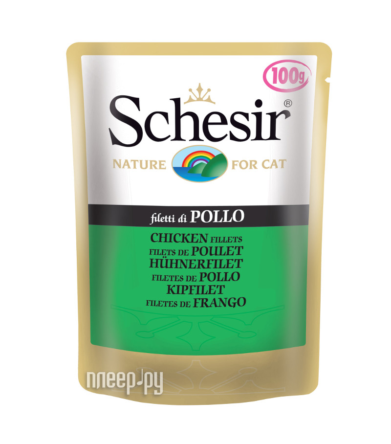 Корм Schesir С576 Филе цыпленка 100g для котят 10457