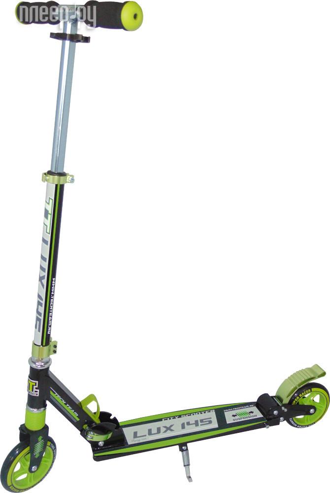 Самокат Tech Team TT 145 Lux Green