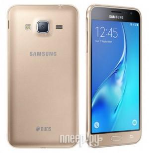 Купить Сотовый телефон Samsung SM-J320F/DS Galaxy J3 (2016) Gold