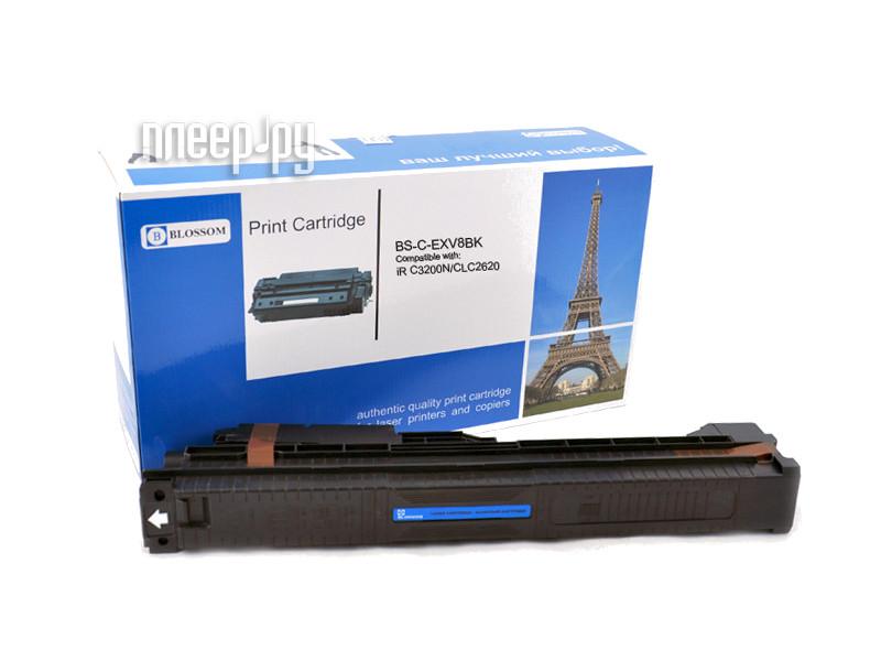 Картридж Blossom BS-C-EXV8BK для Canon iR C3200N / C3220 / CLC2620 Black