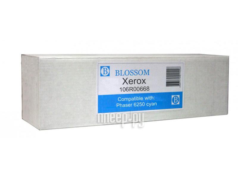 Картридж Blossom BS-X106R00668 для Xerox Phaser 6250 Cyan