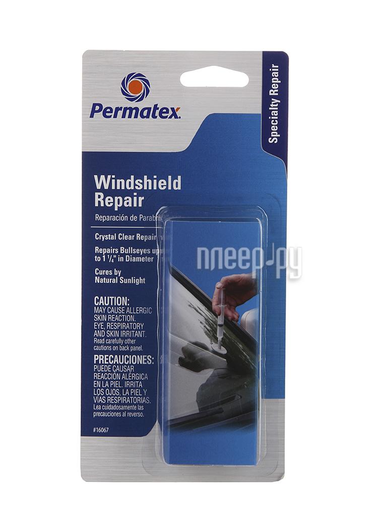 Аксессуар Permatex 16067 Бычий глаз 4,8гр - клей для ремонта лобового стекла