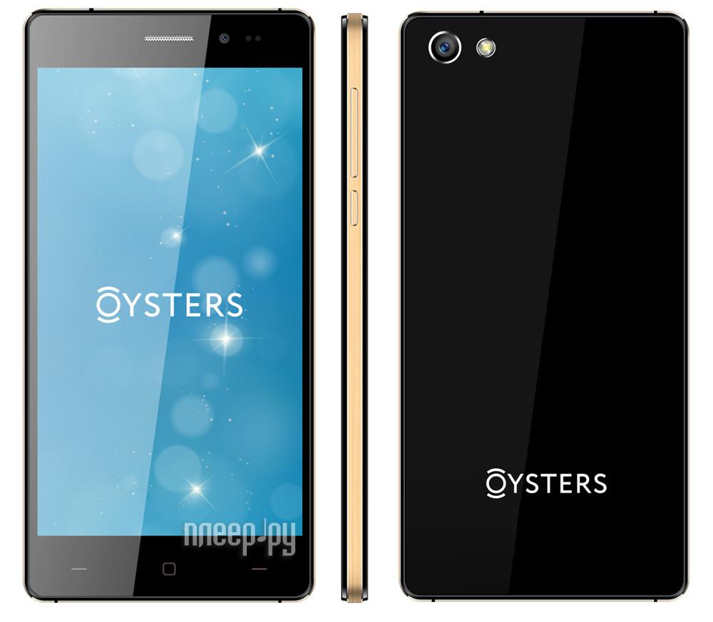 Сотовый телефон Oysters Pacific VS Black-Gold
