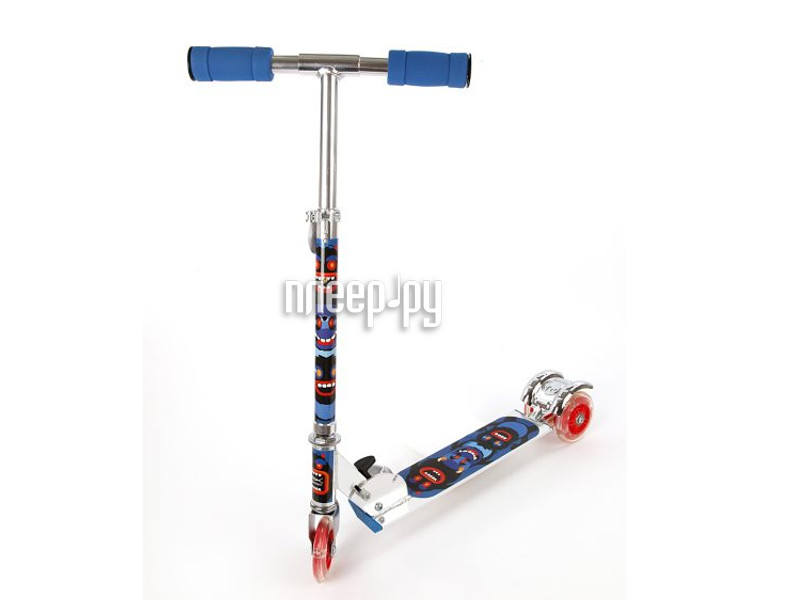 Самокат X-Match Cheerful 64654 Blue
