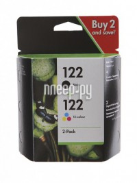 Картридж HP 122 CR340HE 2-pack Black/Tri-colour