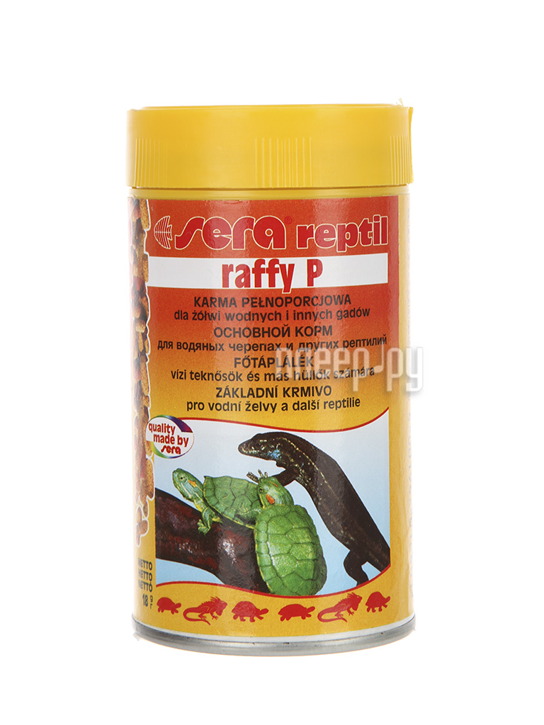 Sera Raffy P для водяных черепах 09661