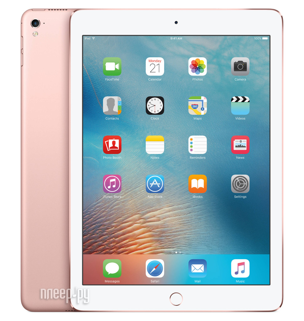 Планшет APPLE iPad Pro 9.7 32Gb Wi-Fi Rose Gold MM172RU / A