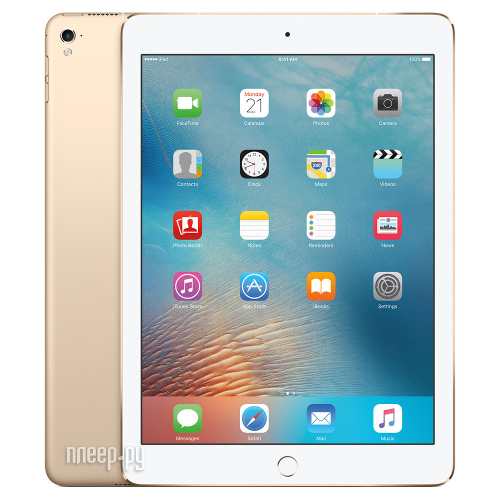 Планшет APPLE iPad Pro 9.7 32Gb Wi-Fi + Cellular Gold MLPY2RU / A